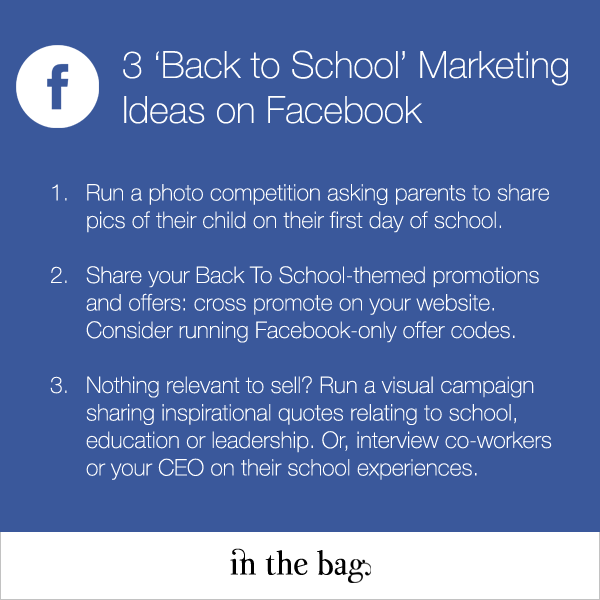 3 Facebook Marketing Ideas