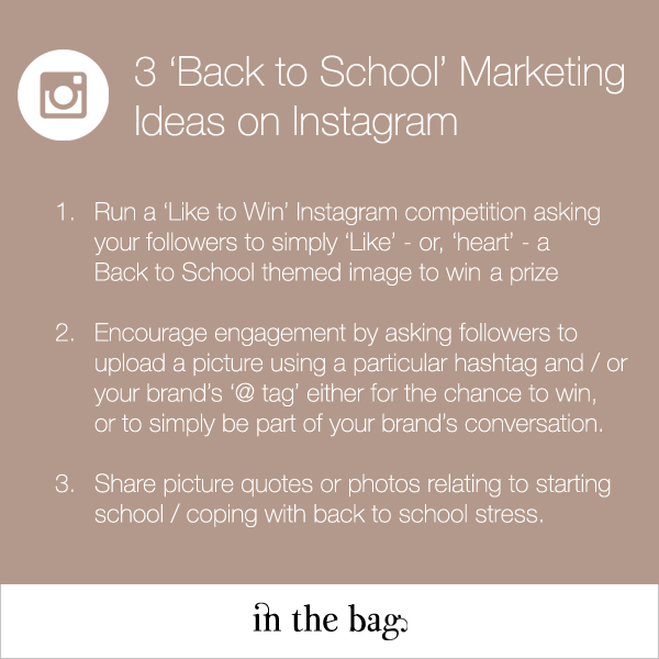 3 Instagram Marketing Ideas