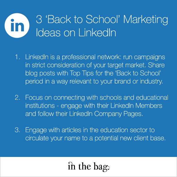 3 LinkedIn Marketing Ideas