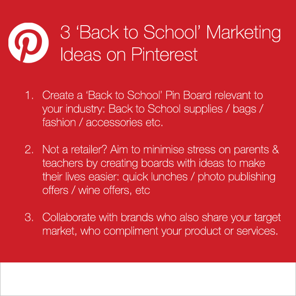 3 Pinterest Marketing Ideas