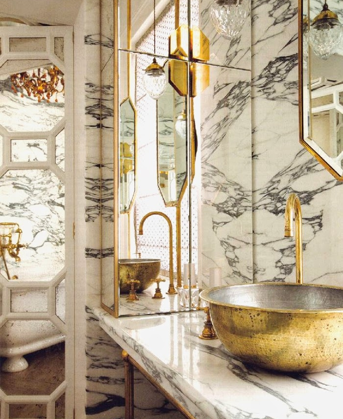 Brass Bathroom Maddux Creative