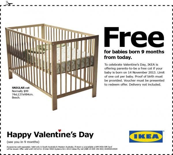 IKEA-Free Cot