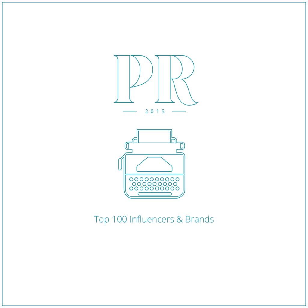 Onalytica PR 2015 Top 100 Influencers & Brands
